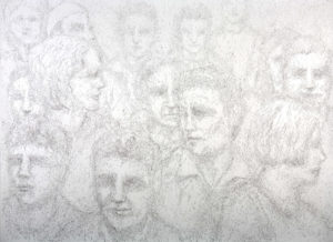 """Untitled Crowd"" 2005"