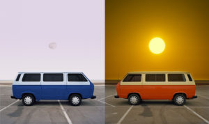 """""""VW Vanagon Dawn Dusk, Dusk Dawn"""" 2009"""