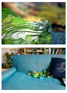 """Rice Terrace/Couch"" 2007"