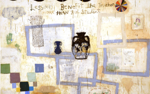 "Squeak Carnwath: ""Paintings and Drawings"""