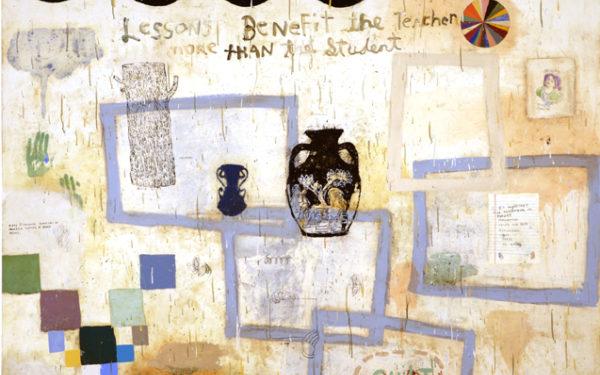 "Squeak Carnwath: ""Paintings and Drawings"""